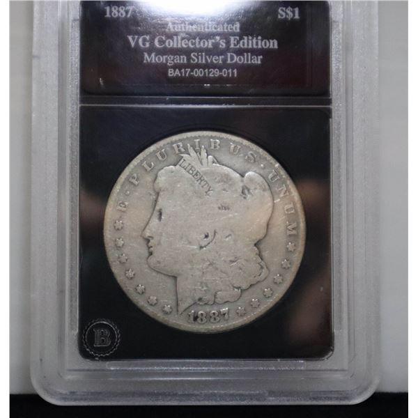 1887O USA SILVER MORGAN DOLLAR