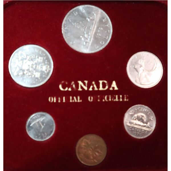 1979 CANADA YEAR SET IN WOODEN DISPLAY BOX
