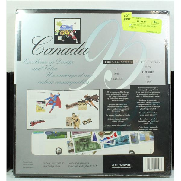 CANADA 95 STAMP COLLECTION (UNOPENED)
