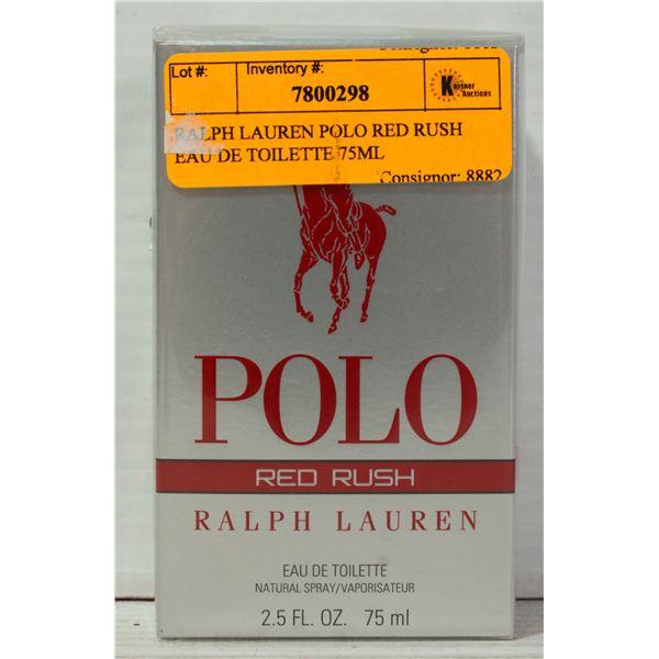 RALPH LAUREN POLO RED RUSH EAU DE TOILETTE 75ML