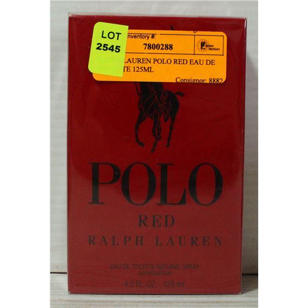 RALPH LAUREN POLO RED EAU DE TOILETTE 125ML