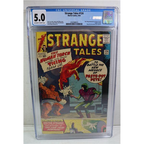STRANGE TALES #124 MARVEL COMICS 9/64 STEVE DITKO