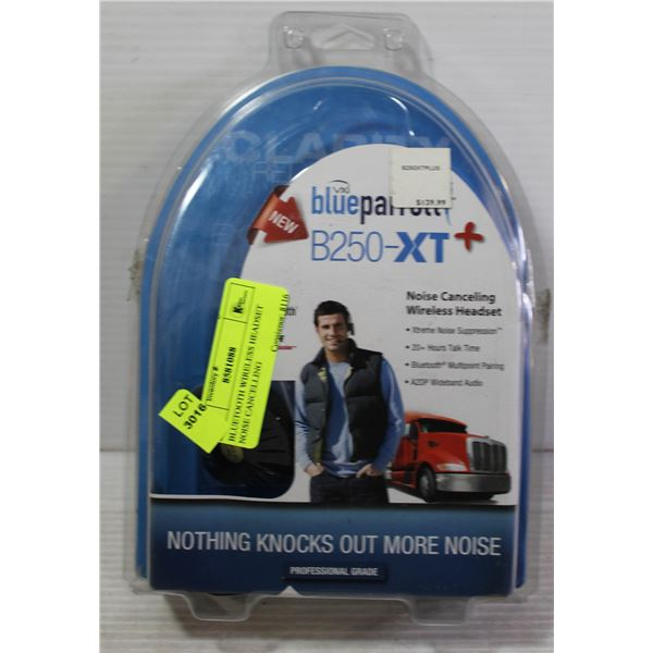BLUETOOTH WIRELESS HEADSET NOISE CANCELLING