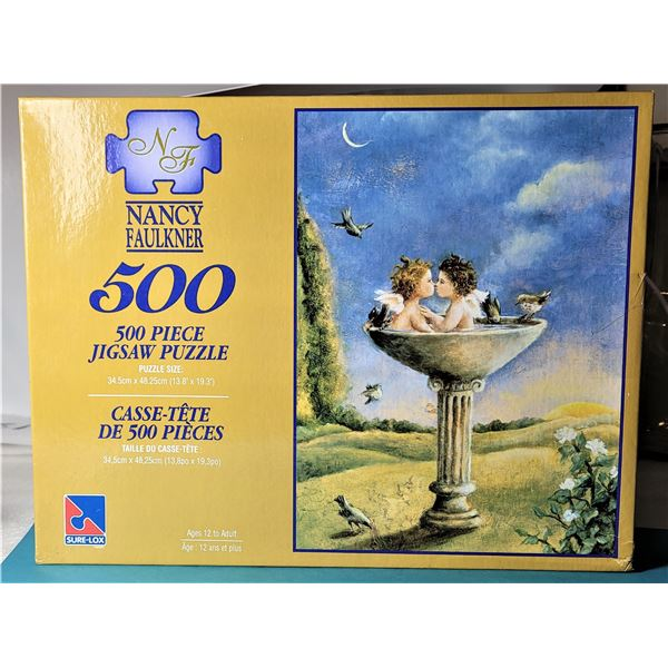 25)  FACTORY SEALED 500 PCE PUZZLE