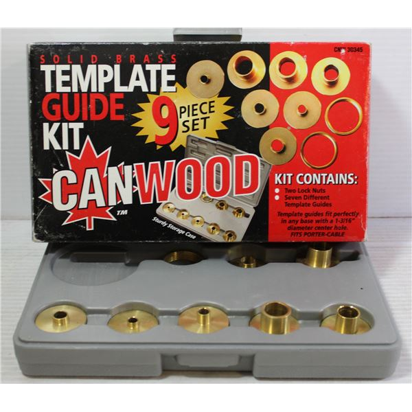 CANWOOD TEMPLATE SOLID BRASS