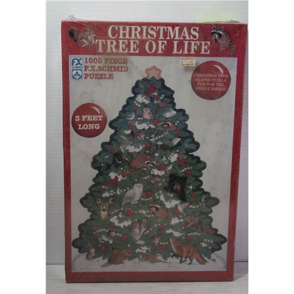 1000 PIECE CHRISTMAS TREE OF LIFE PUZZLE