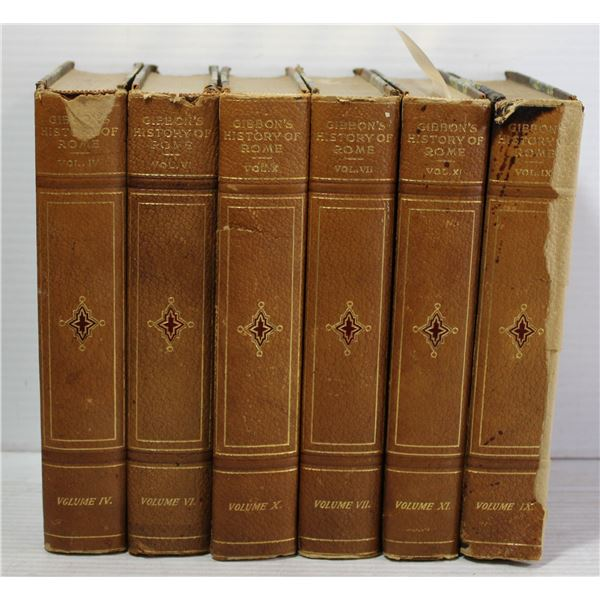 GIBSON'S STORY OF ROME OLD BOOKS