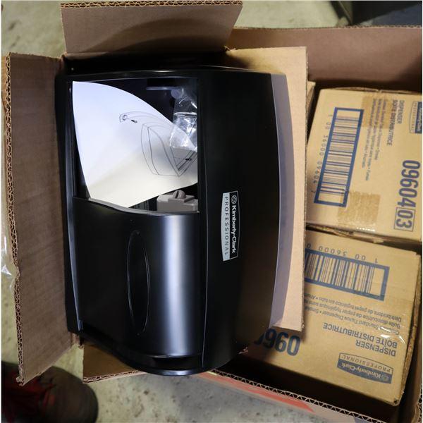NEW KIMBERLY CLARK CORELESS TOILET PAPER DISPENSER