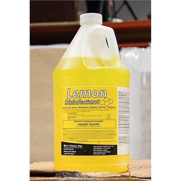 KOR-CHEM LEMON CLEANER/DISINFECTANT 3.78L PER