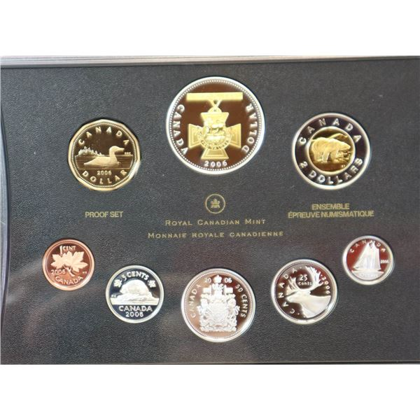 2006 PROOF SET OF CANADIAN CURRENCY