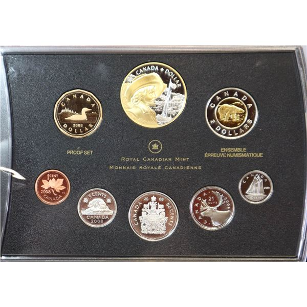 2008 PROOF SET OF CANADIAN CURRENCY