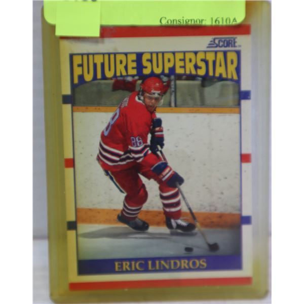 ERIC LINDROSS #44 ROOKIE CARD