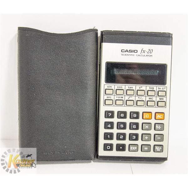ORIGINAL CASIO FX-20 SCIENTIFIC CALCULATOR