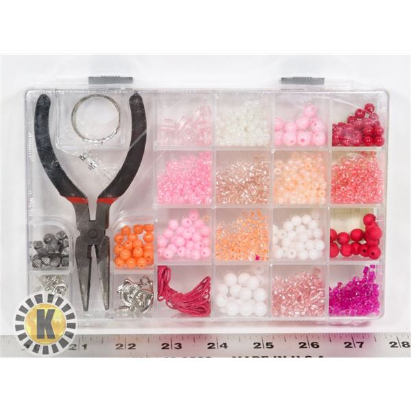 NEW BEAD KIT WITH PLIERS INCLUDED