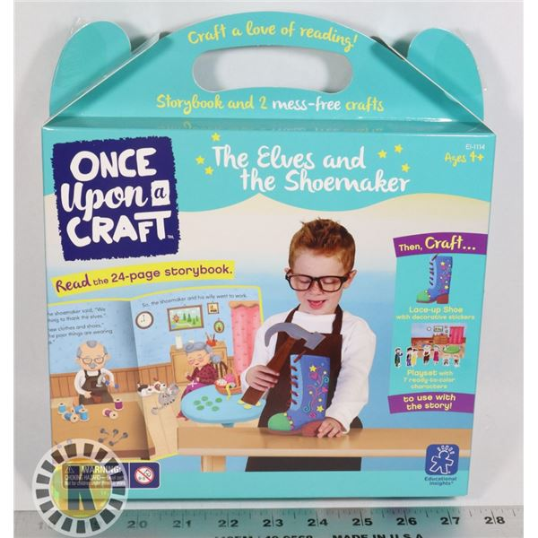 ONCE UPON A CRAFT. THE ELVES AND THE SHOE MAKER KI