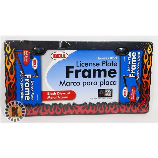 NEW FLAME THEME PLATE FRAME