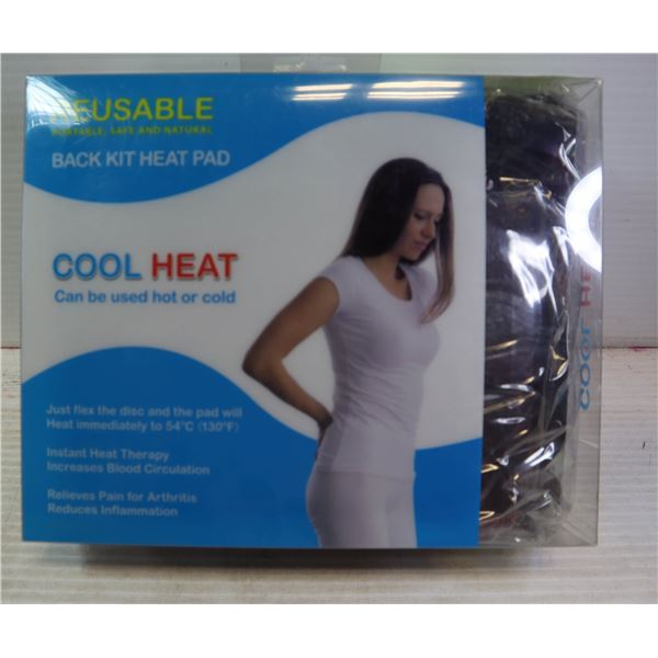 BRAND NEW REUSABLE BACK KIT HEAT PAD - HOT & COLD