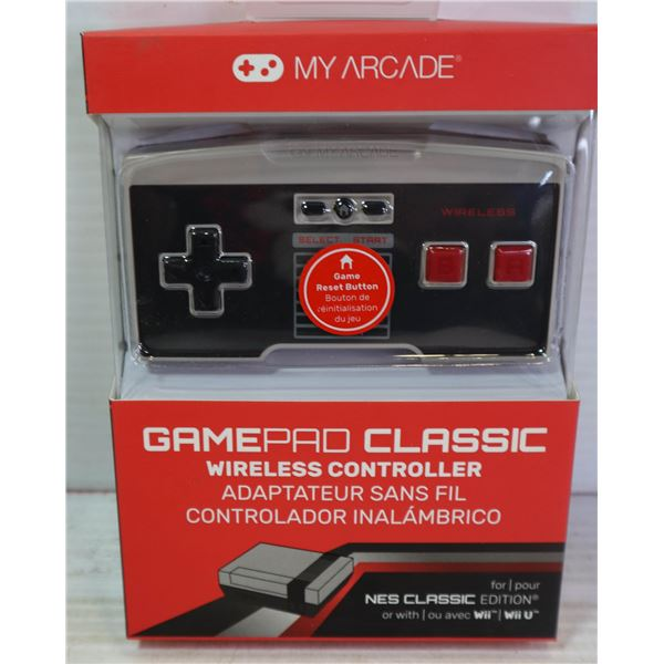 NEW GAMEPAD CLASSIC WIRELESS CONTROLLER FOR