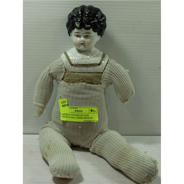 ANTIQUE GUILDED DOLL