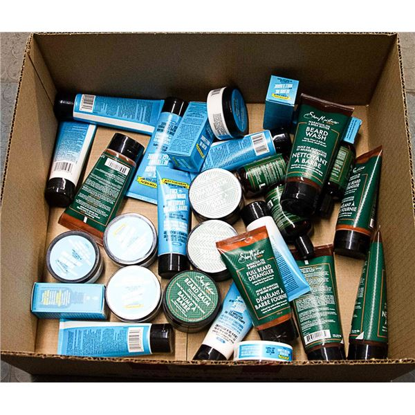 LOT OF ASSORTED BEARD CARE PRODUCTS