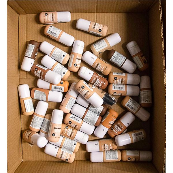 FLAT LOT OF ASSORTED BRAND NAME COSMETICS