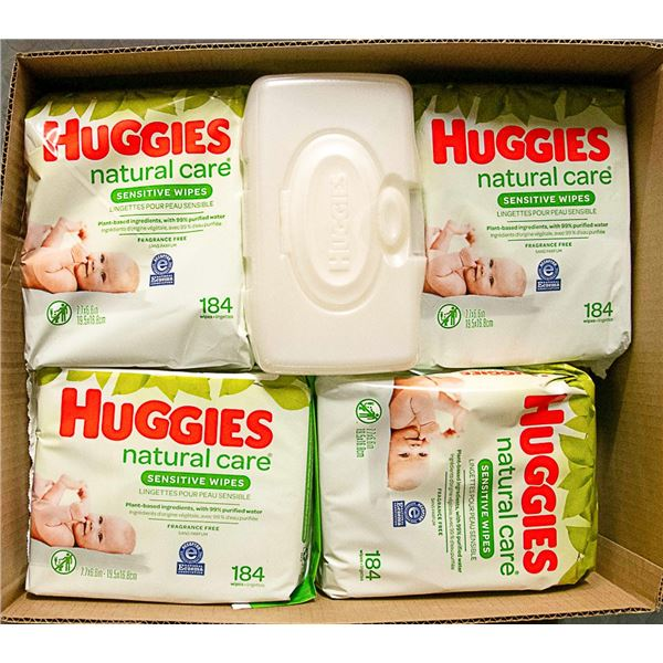 FLAT LOT OF BABY DIAPERS AND WIPES