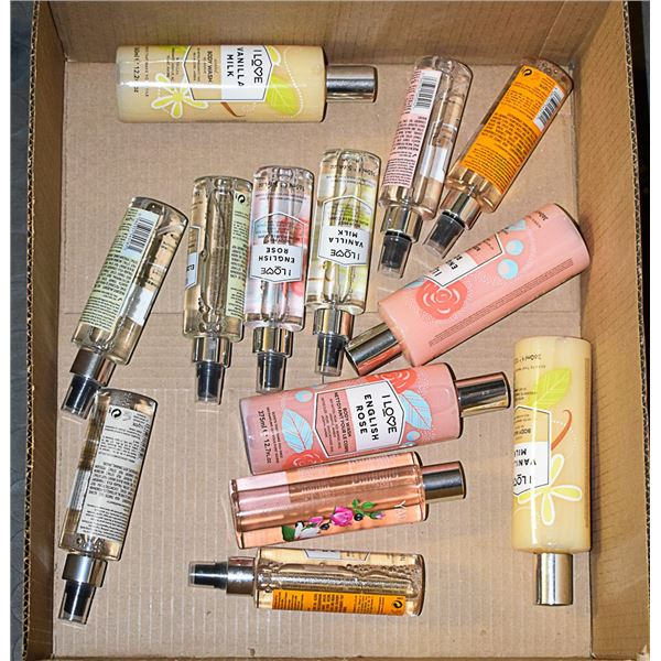 FLAT LOT OF ASSORTED YARDLY BODY PRODUCTS