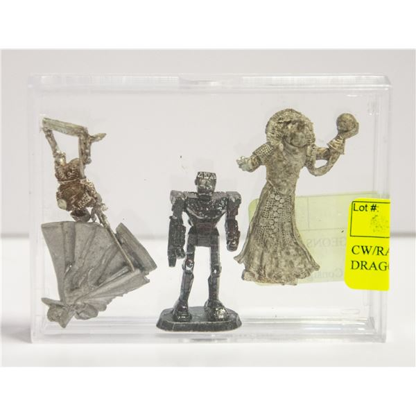 CW/RAL PARTHA DUNGEONS AND DRAGONS FIGURES