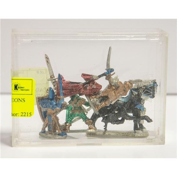 PAINTED RAL PARTHA DUNGEONS AND DRAGONS FIGURES