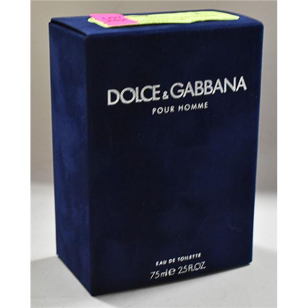 DOLCE & GABBANA POUR HOMME EAU DE TOILETTE 75ML