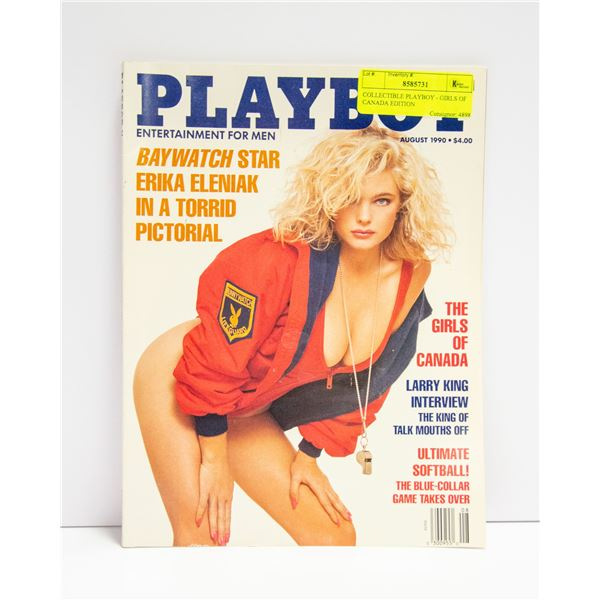 COLLECTIBLE PLAYBOY - GIRLS OF CANADA EDITION