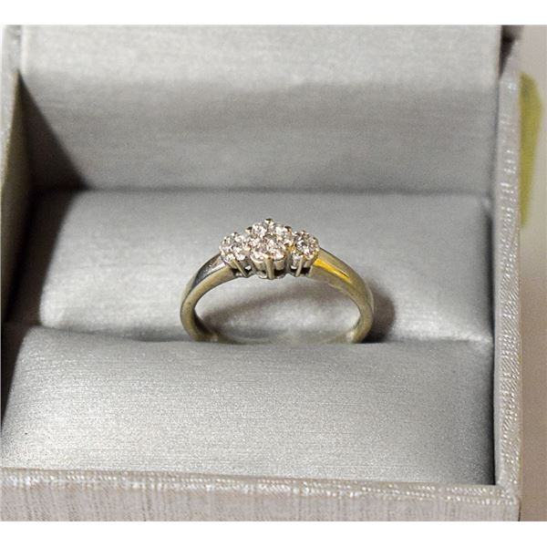 .25 CARAT DIAMOND RING FROM PEOPLES 10K WHITE GOLD