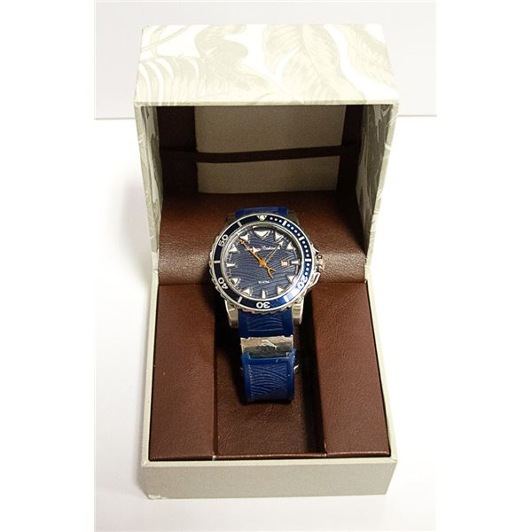 AUTHENTIC TOMMY BAHAMA DIVING WATCH W/ DATE