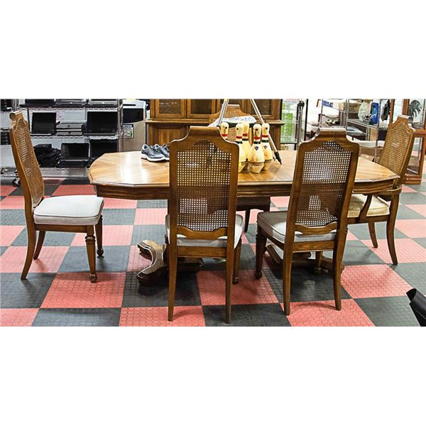 GIRARD COLLIN SOLID WOOD DINING TABLE