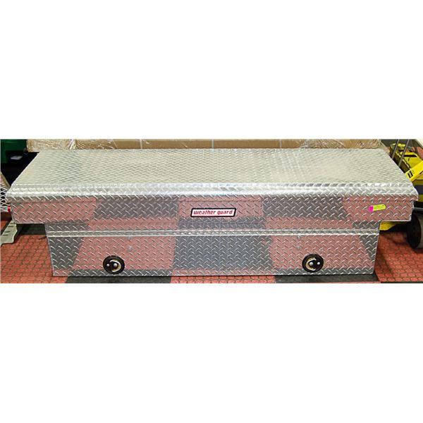 ALUMINUM WEATHER GUARD TRUCK BOX - FRONT BOX