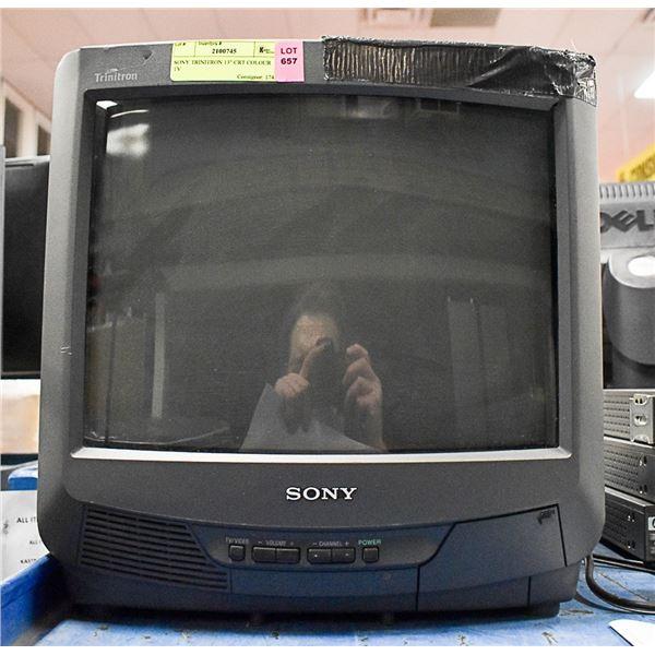 """SONY TRINITRON 13"""" CRT COLOUR TV"""