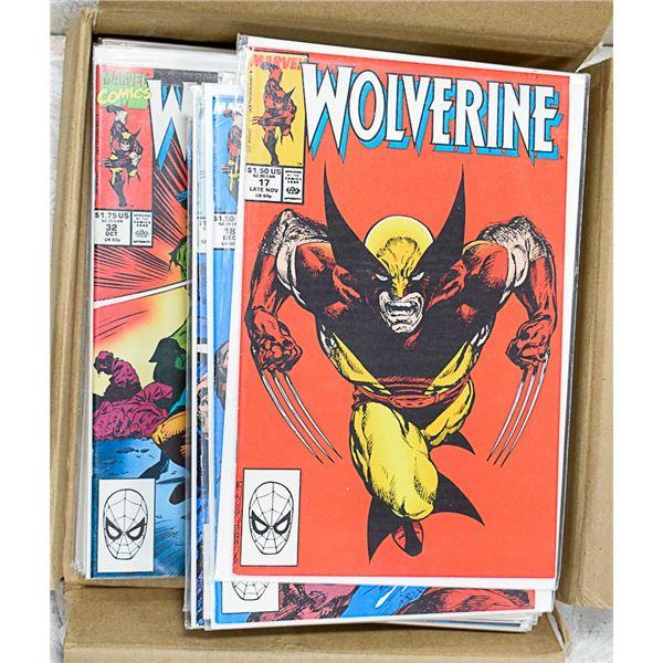 22 WOLVERINE COMICS LOT MARVEL COMIC BOOKS
