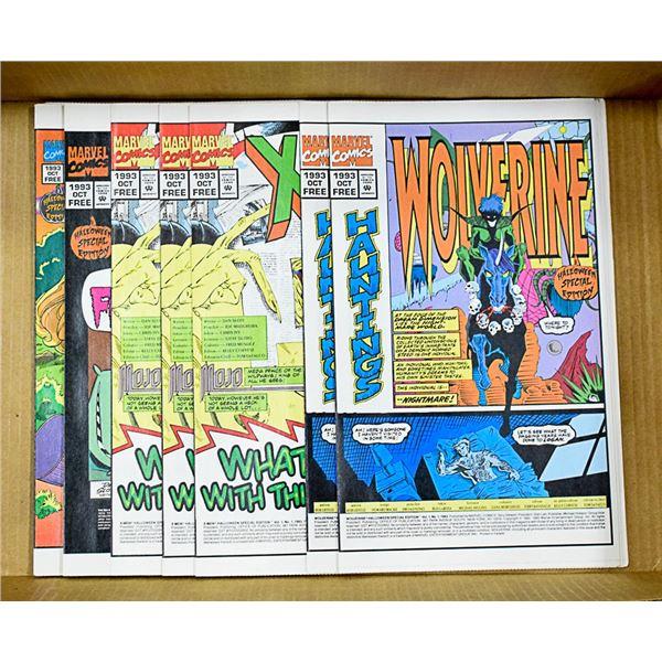 29 MARVEL 1993  COMICS WOLVERINE MISC FREE