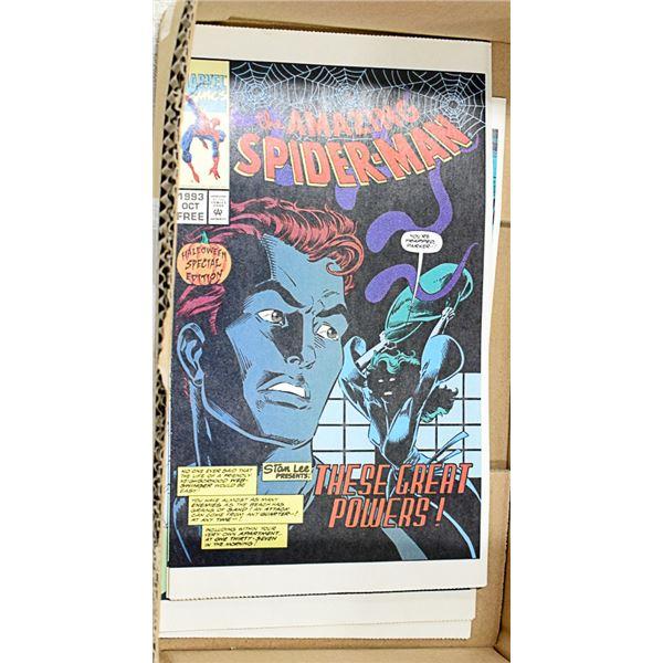 7 RARE AMAZING SPIDER-MAN 1993 FREE COMICS MARVEL