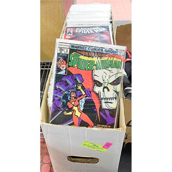 COMICS LONG BOX MARVEL DC MISC COMIC BOOKS
