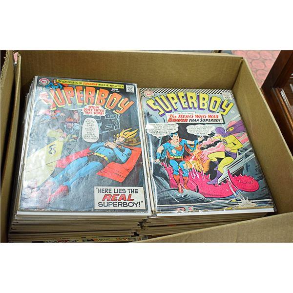 47 COMICS LOT ASSORTED SUPERBOY DC COMIC BOOKS