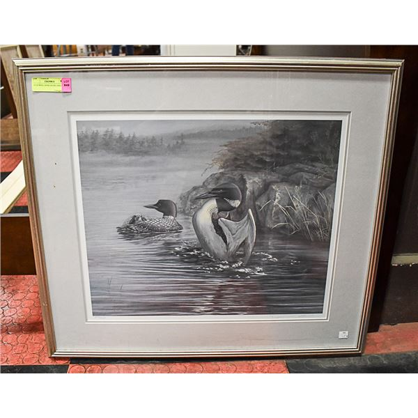 """DJ HOWES LOONS 203/295 29"""" X 25"""""""