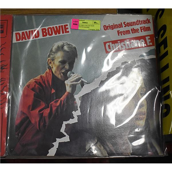 ESTATE RECORD COLLECTION VINYL LP DAVID BOWIE