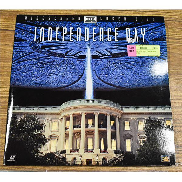INDEPENDENCE DAY LASER DISC 0411885