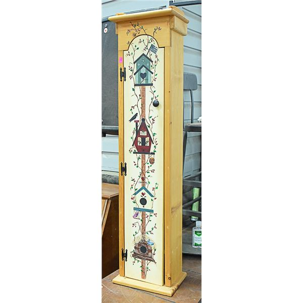 ORNAMENTAL PAINTED CABINET