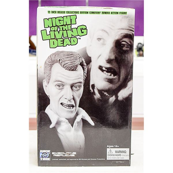 12 IN NIGHT OF THE LIVING DEAD FIGURE CEMETERY