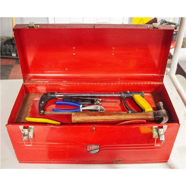 TOOL BOX BEACH 2 DRAWER WITH TOOLS