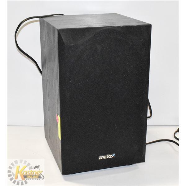 ENERGY POWERED SUBWOOFER SUB/AMP COMBO