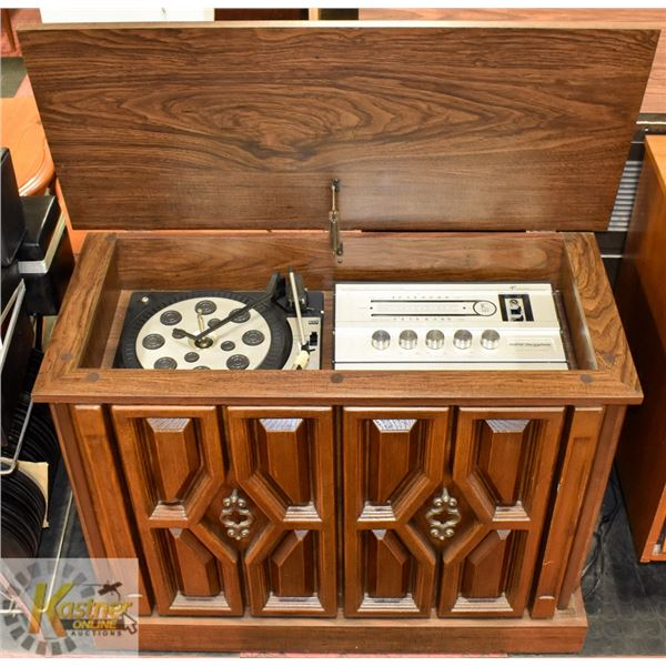 """MORSE ELECTROPHONIC CABINET STEREO 16"""" X 36"""" X 26"""""""