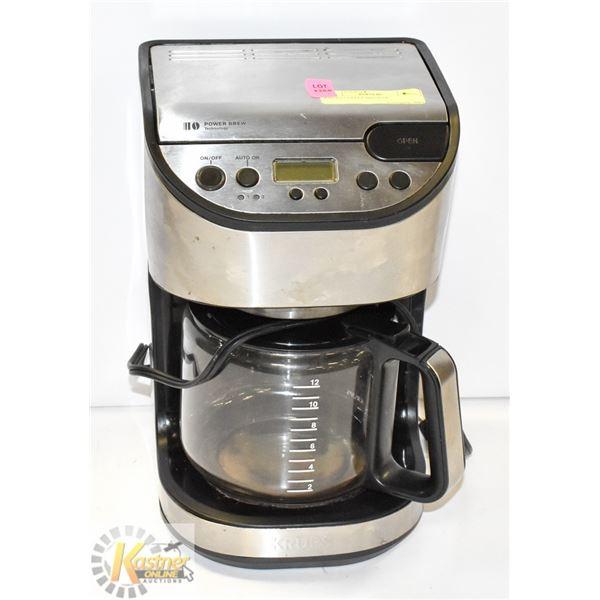 KRUPS COFFEE BREWER